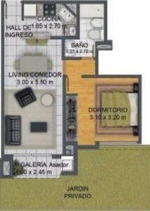 Tipologia 1 dromitorio